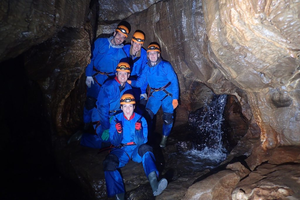 Discover Caving - caving activities for individuals and small groups.
